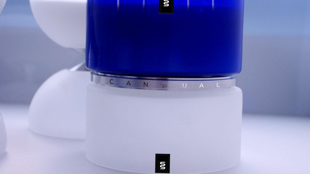 YKB & Frozen Glass - Size : 150mm / Wax Weight : 3kg / Burning Hours (Dual + Free Refill) : 300